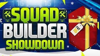 FIFA 16 SQUAD BUILDER SHOWDOWN!!! 100K PACK SPECIAL!!! Christmas 100k Pack Special Squad Builder