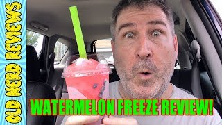 Taco Bell Watermelon Freeze REVIEW 🌮🔔🍉