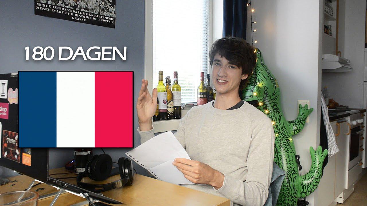Hoe ik in 180 dagen frans heb geleerd