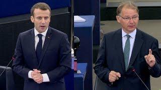 Philippe LAMBERTS (Greens/EFA, BE) VS Emmanuel Macron