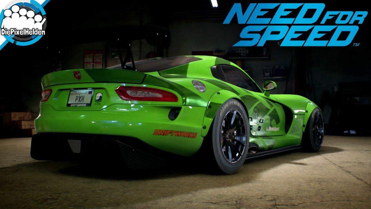Need For Speed Dodge Viper Srt Maxbuild Need For