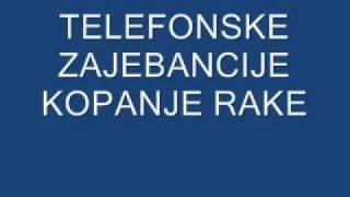 Telefonske Zajebancije - Rade Komunalac kopanje rake.wmv