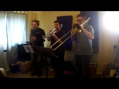 Recording Horns with The Snitch Sessions
