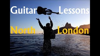 Guitar lessons in north London [Crouch End, Highgate, N8, N6] and online [FaceTime, Skype]
