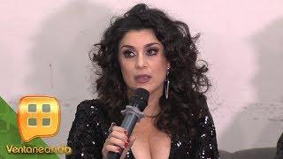 La cantante Karina se le va a la yugular a Alfredo Adame por haber hablado de su hijo.