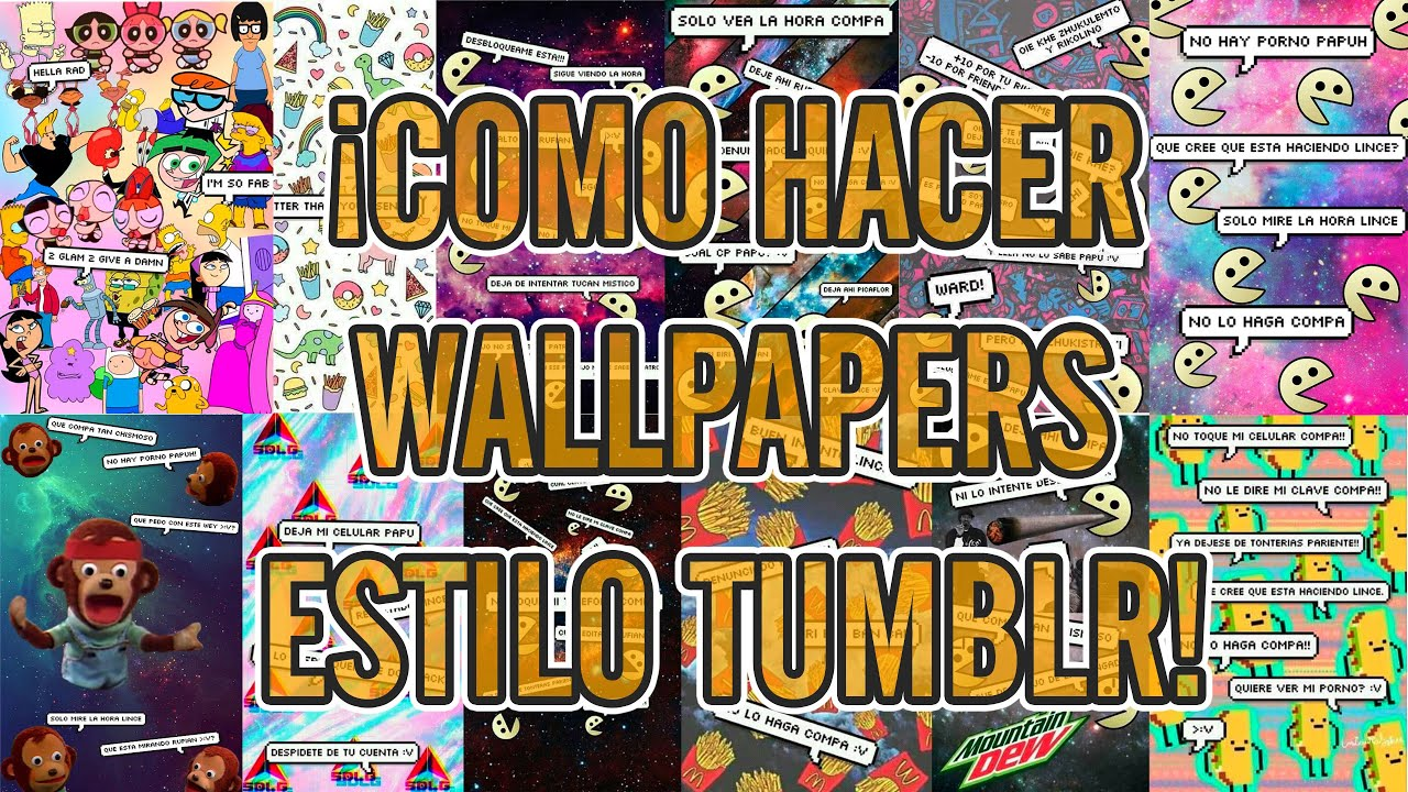 Tumblr Fondos De Pantalla Para Computadoras: ¡Como Hacer WallPapers Estilo Tumblr! ۞ ¡Photoshop