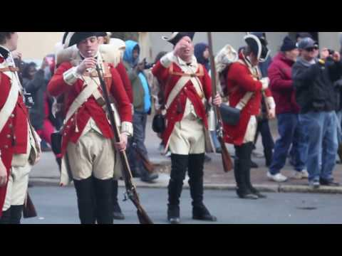 Battle of Trenton reenactment - December 31, 2016