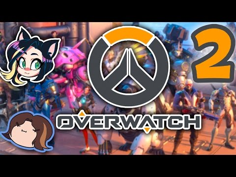 ►Overwatch►STRATEGIZING 101►With Egoraptor!► PART 2 - Kitty Kat Gaming