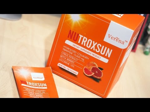 [Beauty Talk] Verena Nutroxsun : Do Edible Sunscreen Work?
