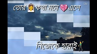 Bojhabo ki kore toke koto ami chai || romantic whatsapp video