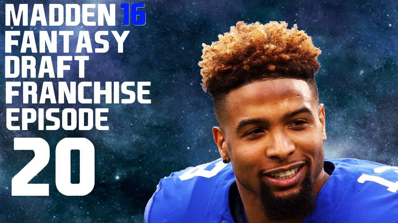 Madden 16 ps4 fantasy draft episode 20 offseason filling out the