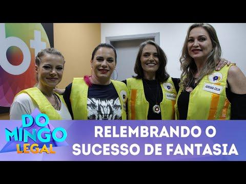 Meninas do Fantasia relembram o programa   Domingo Legal (01/07/2018)