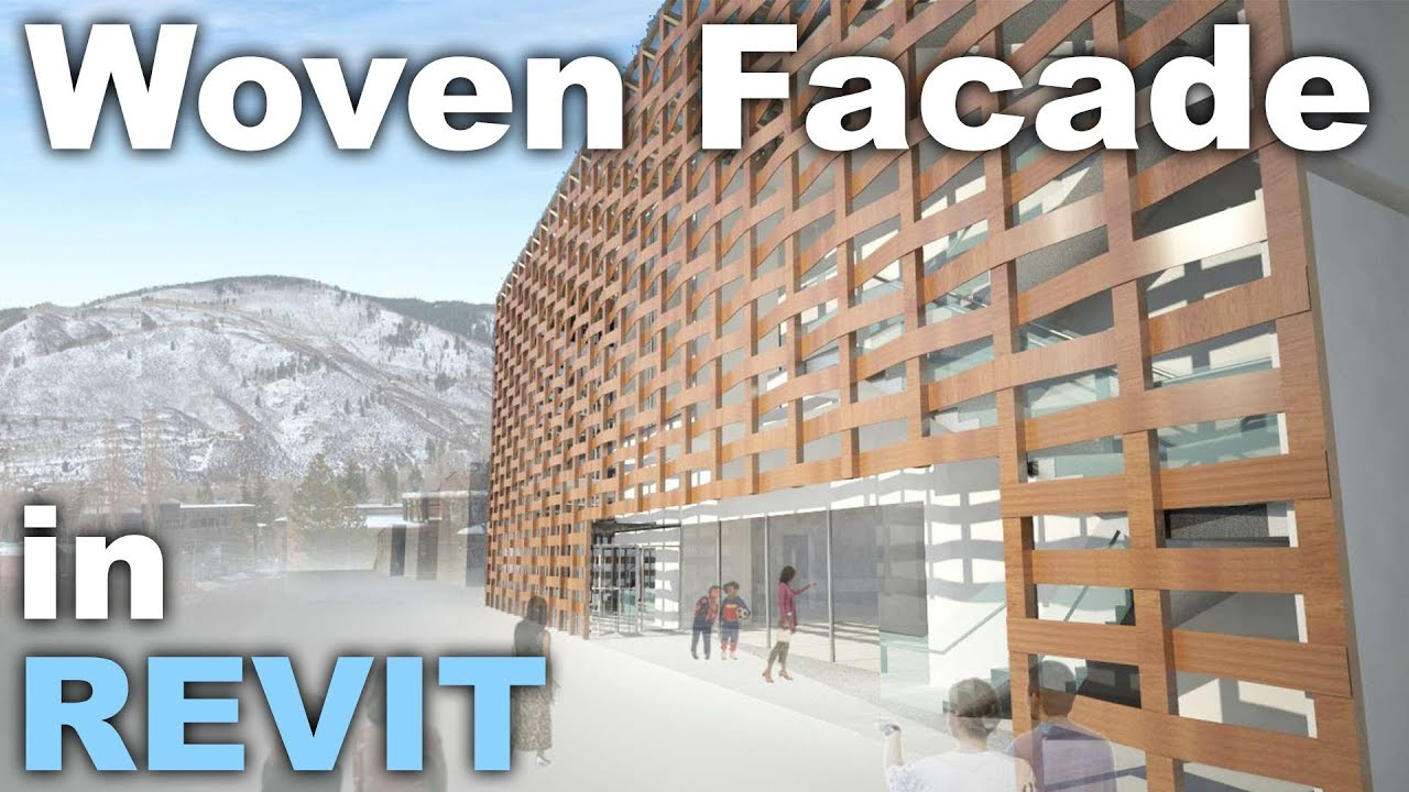 how to make a facade in revit