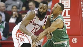 Boston Celtics tremendous defense against Houston Rockets (16/11/2015).