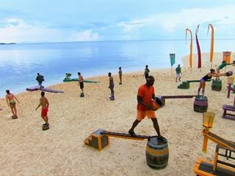 Survivor: Cagayan - Immunity/Reward Challenge:Mazed & Confused