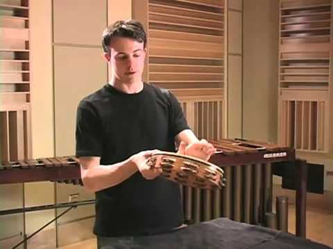 Tambourine 1: Characteristics And Striking Techniques / Vic Firth Percussion 101