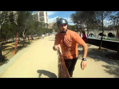 Land Paddle, GoPro, and Puerta Del Angel, Madrid