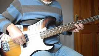 Snow Patrol - Chasing Cars Bass Cover