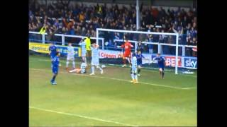 Rochdale 2-1 Yeovil Town: March 28th 2015: The Goals