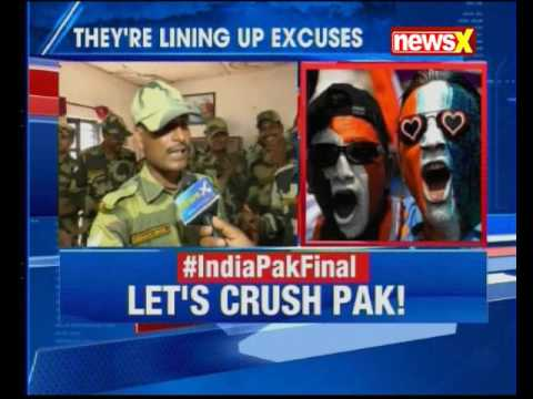 BSF Jawans wish team India best of Luck