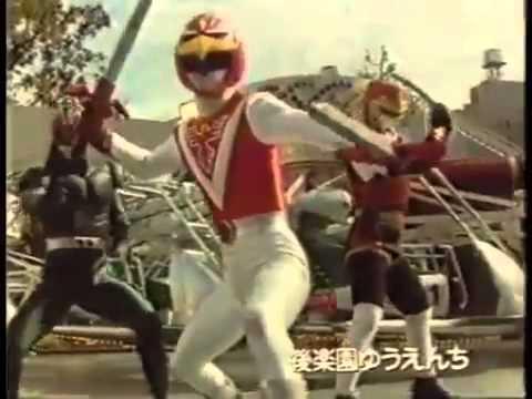 Tokusatsus - Passagem de bastão 1983 - 1994 (Jaspion, Changeman, Jiraya, Kamen Rider Black, etc...)