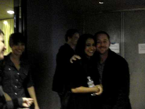 Parminder Nagra and Scott Grimes of ER