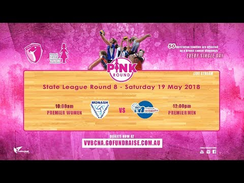 VIC State League Volleyball: Pink Round