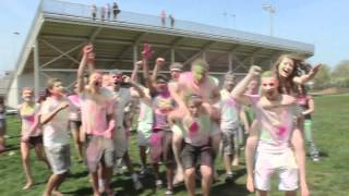 The 2012 Holi Festival of Colors at Pennsbury High School