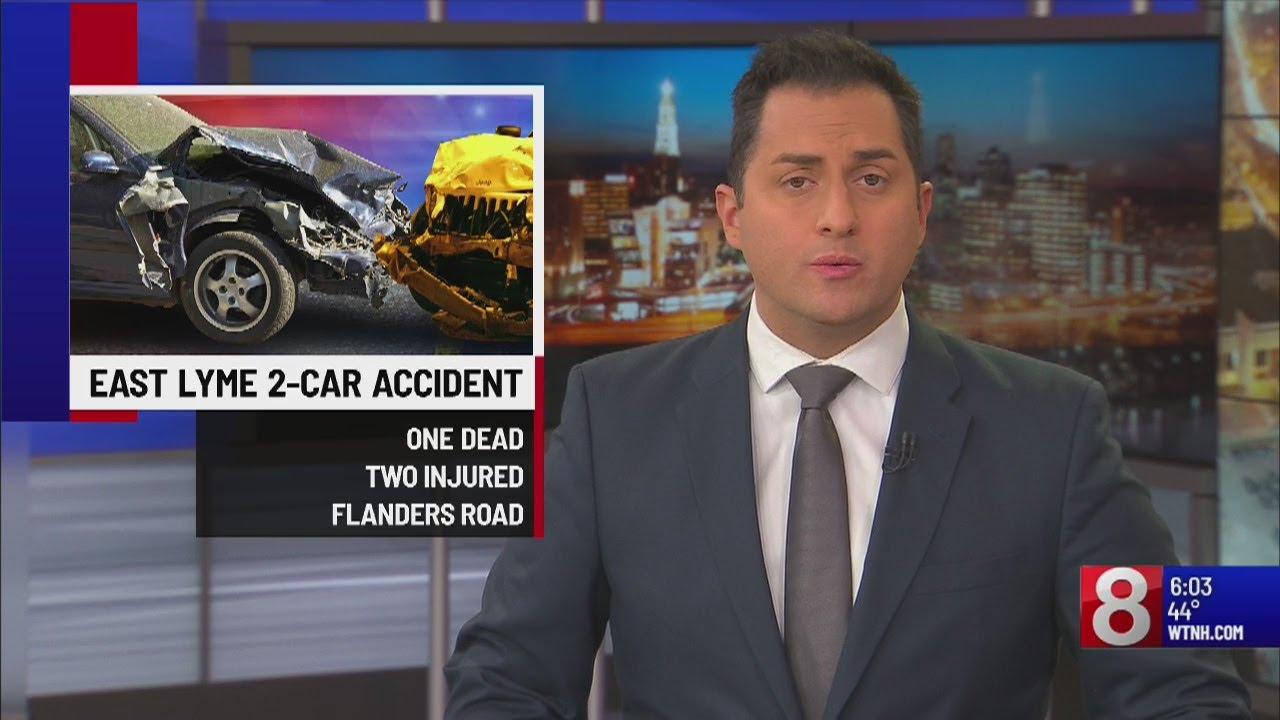 1 dead, 2 flown to hospital after fatal crash in East Lyme