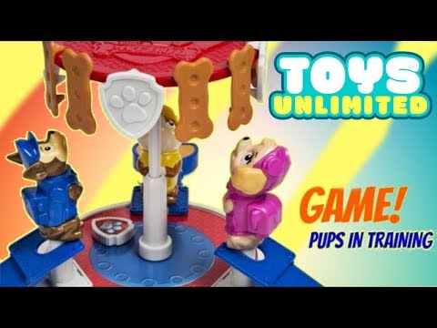 PAW PATROL  Pup in Training with Skye, Chase, Rubble, Huge Kinder Chocolate Egg Toy Surprises / TUYC