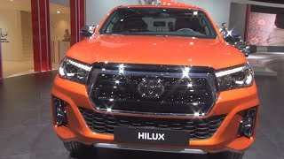 Toyota Hilux Double Cab Invincible 2.4 L 150 D 4D 4WD BVA6 (2019) Exterior and Interior