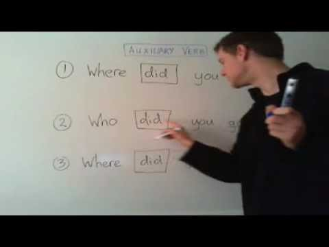 Questions with and without Auxiliary Verbs