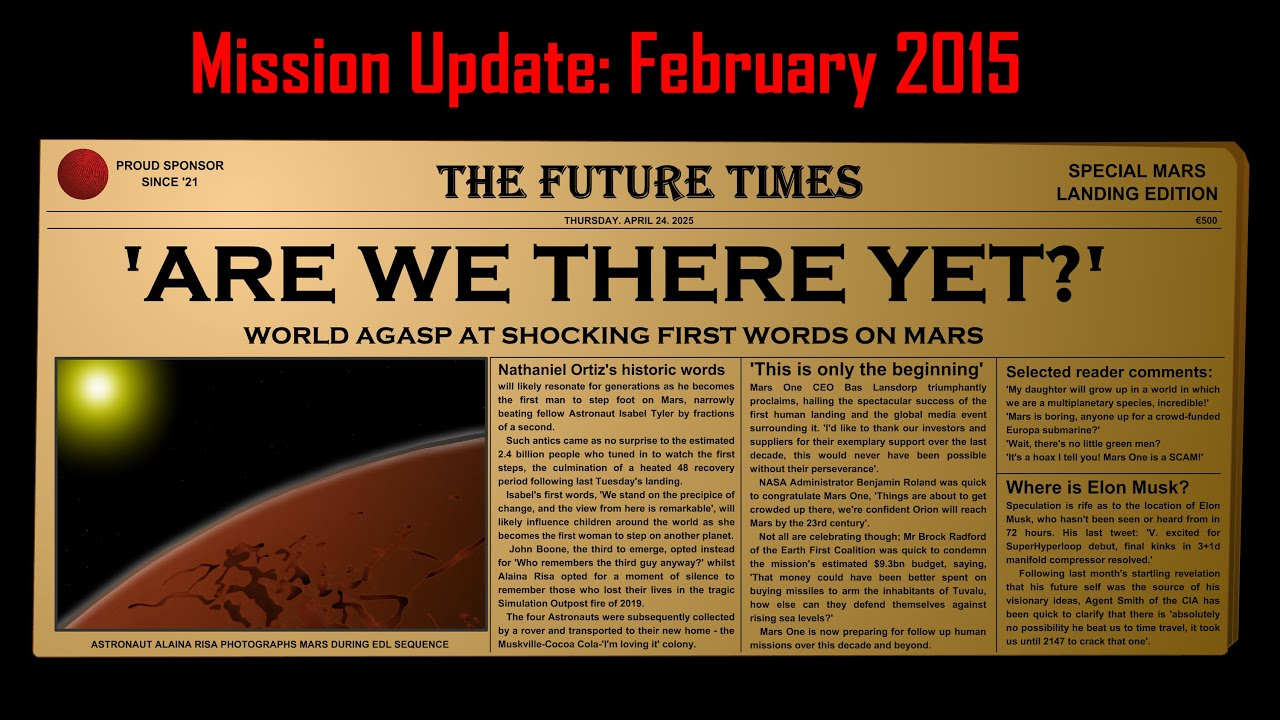 mars mission update - photo #8