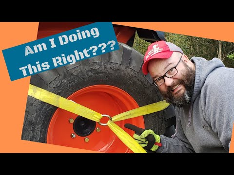 Can Straps REALLY Secure Your Tractor? We Do The Math For You!
