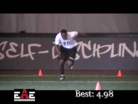 EAE Football Combine - Huntsville, AL - D Howell 3-6-10