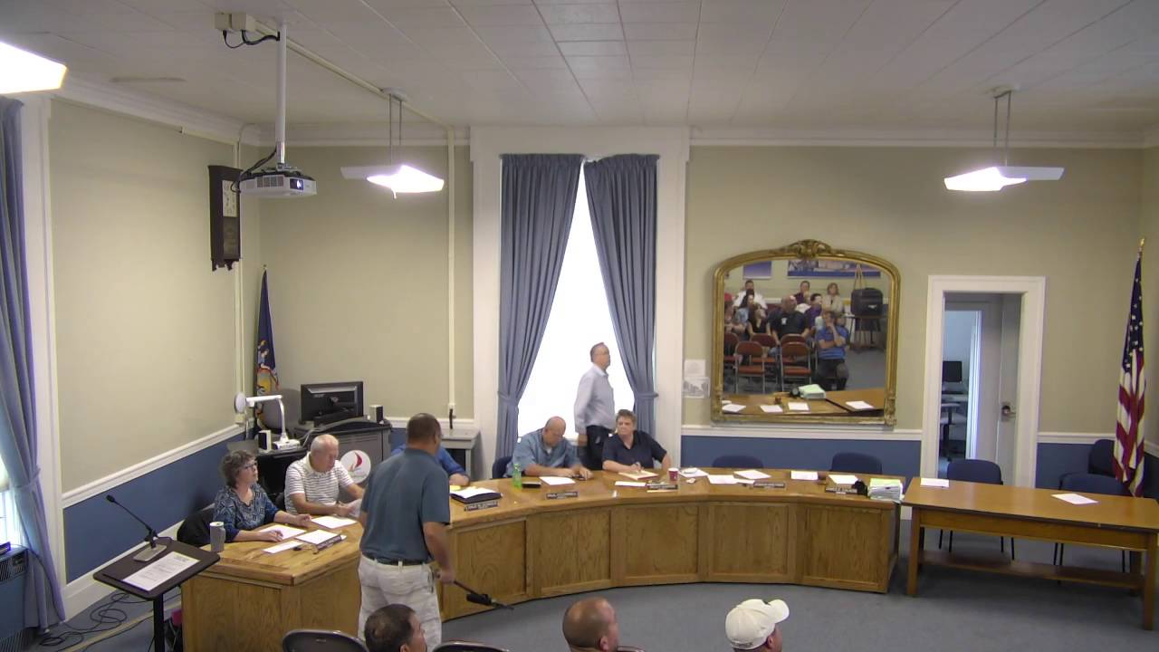 City of Plattsburgh, NY Special Common Council Meeting 9-29-16