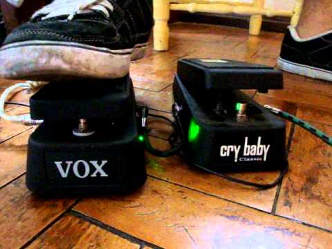 Löpes - Wah comparison - VOX 845 mod vs  Cry Baby Classic