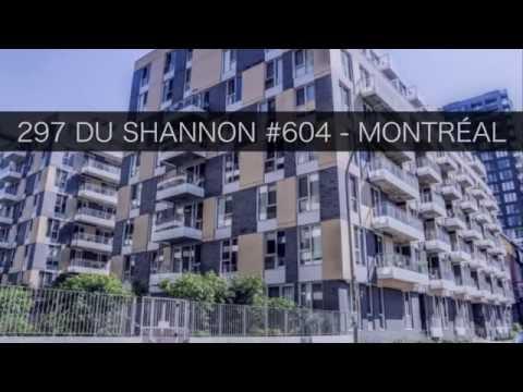 ALEXANDRE DUMAS - 297 SHANNON #604 - GRIFFINTOWN - MONTRÉAL - VISITE VIRTUELLE - VIDEO IMMOBILIER