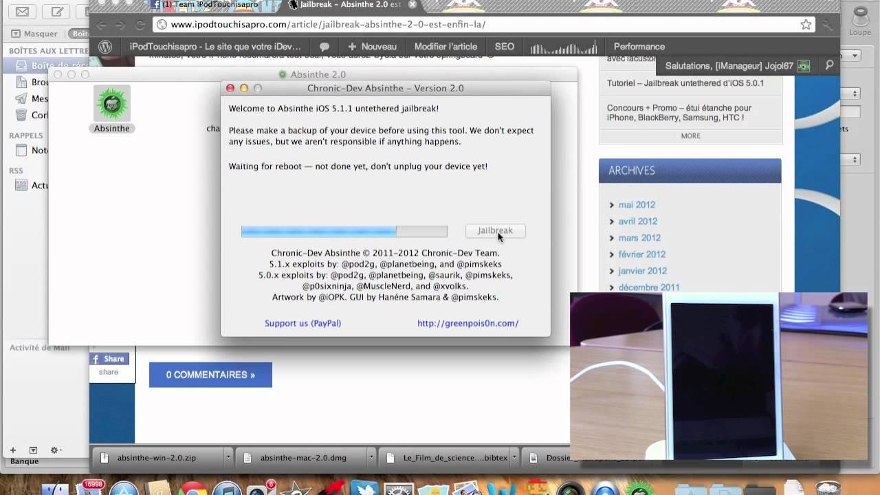 Jailbreak Untethered iOS 5.1.1 iPhone 4S/4/3GS, iPad 1/2/3 ...