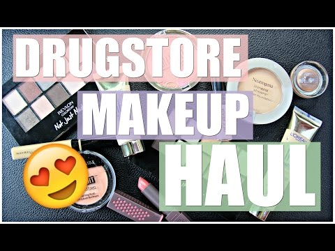 Drugstore Makeup Haul 2016 | New & Old Favorites
