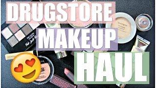 Drugstore Makeup Haul 2016 | New & Old Favorites