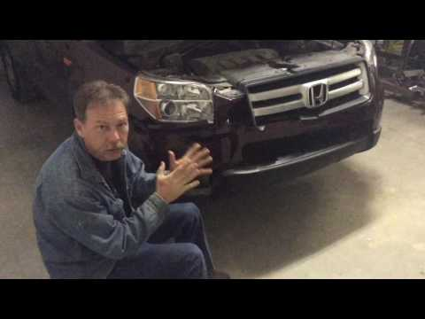 2007 Honda Pilot - Deer Hunting Damage Repair - Part 1