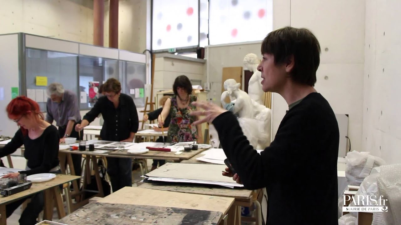 Les ateliers des beaux arts de paris youtube - Ateliers d arts de france ...