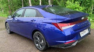 Взял Hyundai Elantra 1.6 в трассовый формат