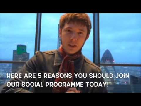 The Best English School London Social Programme!