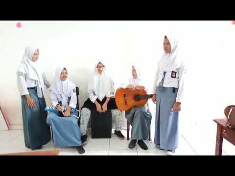 Cover Lagu Laskar Pelangi - Nidji ,     Tugas Seni Budaya X Ap2 Smk Rosma