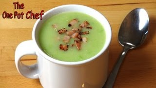 Potato, Pea And Bacon Soup - Recipe