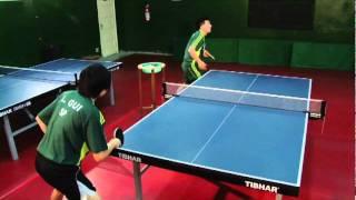 Tênis de mesa: o ataque de Hugo Hoyama