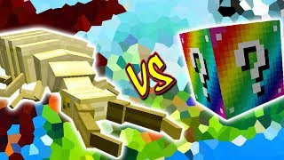 ANTLION VS. LUCKY BLOCK RAINBOW (MINECRAFT LUCKY BLOCK CHALLENGE)