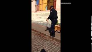 Graba abuso de 'polis' y lo arrestan